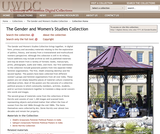 The Gender and Women's Studies Collection