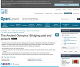 The Ancient Olympics: Bridging Past and Present