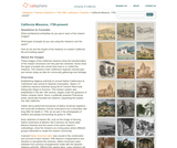 Calisphere Themed Collection - 1780-1880: California in Transition:  California Missions, 1780-present
