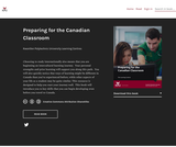 Preparing for the Canadian Classroom