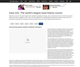 Iowa 101: The world's largest Iowa history course