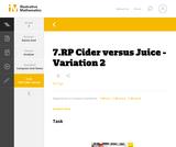 7.RP Cider versus Juice - Variation 2