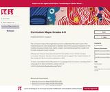 Curriculum Maps: Grades 6-8