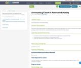 Accounting Chart of Accounts Activity