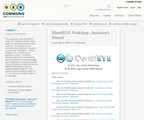 IDentifEYE Workshop - Instructor's Manual
