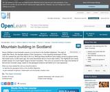 Mountain Building in Scotland