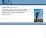 Conducting Assessment