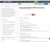 Employability Skills: A MS Career Lesson