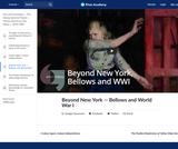 Beyond New York — Bellows and World War I