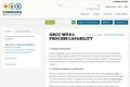 WP.8.1: PROCESS CAPABILITY
