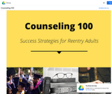 Success Strategies for the Reentry Adults