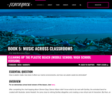 Book 5, Music Across Classrooms: STEAM. Chapter 8, Lesson 1: Cleaning Up the Plastic Beach (Middle School/High School Version)