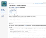 DIY Design Challenge Activity from ISKME's Teacher Academy