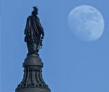 Statue of Freedom and Philip Reid