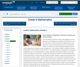 Grade 5 Module 4:Multiplication and Division of Fractions and Decimal Fractions