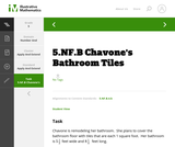 5.NF.B Chavone's Bathroom Tiles