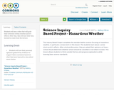 Science Inquiry Based Project - Hazardous Weather