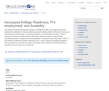 Aerospace College Readiness, Pre-employment, and Assembly