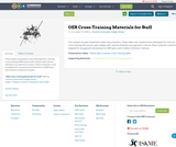 OER Cross-Training Materials for Staff