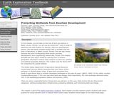 Earth Exploration Toolbook Chapter: Protecting Wetlands from Exurban Development