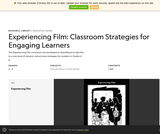 Experiencing Film: Classroom Strategies for Engaging Learners