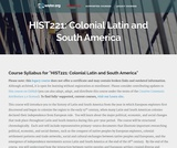 Colonial Latin and South America