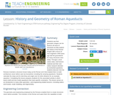 History and Geometry of Roman Aqueducts