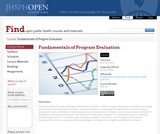 Fundamentals of Program Evaluation