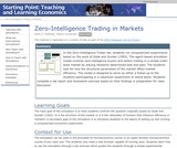 Zero-Intelligence Trading in Markets