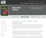 Bless Me, Ultima by Rudolfo Anaya - Reader's Guide