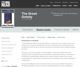 The Great Gatsby by F. Scott Fitzgerald - Reader's Guide