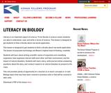 Literacy in Biology