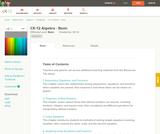 Algebra - Basic (Student's Edition)