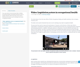 Video: Legislation,actors in occupational health