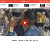 Manet's Corner of a Cafe-Concert
