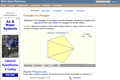 Triangles of a Polygon