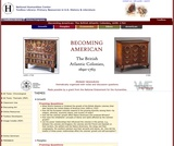 Becoming American, the British Atlantic Colonies, 1690-1763: Primary Sources