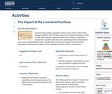 The Impact of the Louisiana Purchase