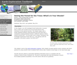 Earth Exploration Toolbook Chapter: Seeing the Forest for the Trees: What's in Your Woods?