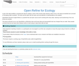 Open Refine for Ecology