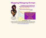 Mapping Margery Kempe
