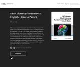 Adult Literacy Fundamental English - Course Pack 5