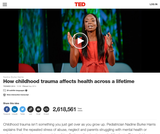 How Childhood Trauma Affects Health Across a Lifetime