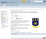 General Physical Examination in Gynaecology