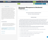 Stormwater Management in Residential Properties