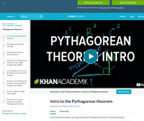 Intro to the Pythagorean theorem