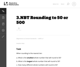 Rounding to 50 or 500