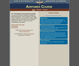 Air & Space Power Course