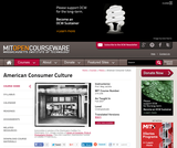 American Consumer Culture, Fall 2007