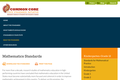Mathematic Standards: Common Core State Standards